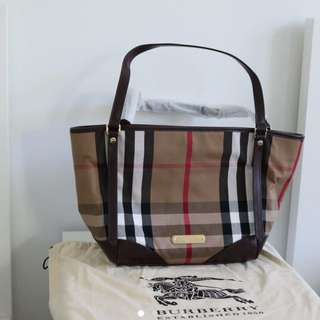 Authentic Burberry Bridle