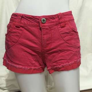 WALLFLOWER red low waist plus size ladies sexy shorts 13