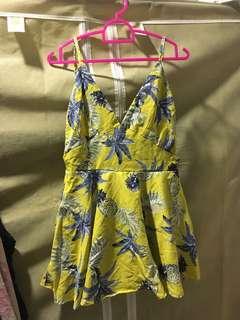 Floral romper/dress