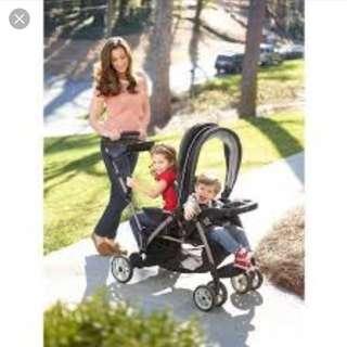 Graco tandem stroller