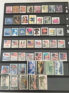 FP! 99 different used USA stamps