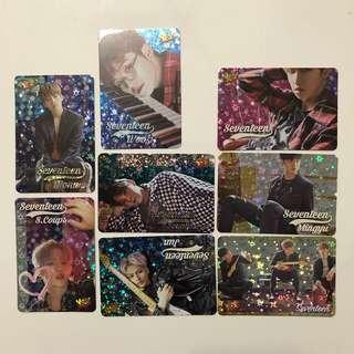 Seventeen Yes!card 第29/27期白卡