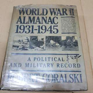 World War 2 Almanac 1931-1945