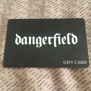 $100 Dangerfield Gift Card Unused