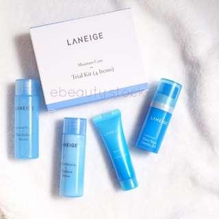Laneige moisture care trial kit 4 items