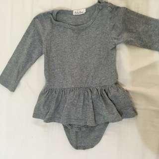 Baby Dress Top Romper Blouse Ruffles