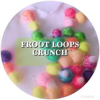 FROOT LOOPS CRUNCH | CRYSTALSNOWSLIME