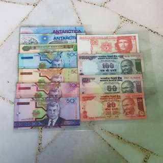 Brand New Paper Money Transparent Plastic Sleeve 🇲🇾 !!!