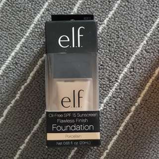 Elf Foundation col: Porcelain
