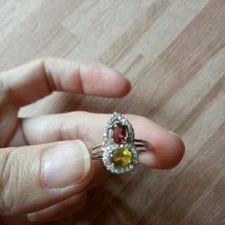 🚚 天然碧璽葫蘆戒指