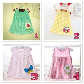 Ready Stock Baby Dress/Baby Girl Dress
