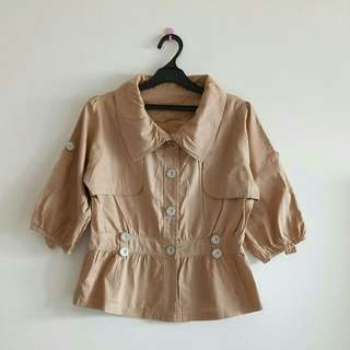 BLOUSE COAT LOOK A LIKE