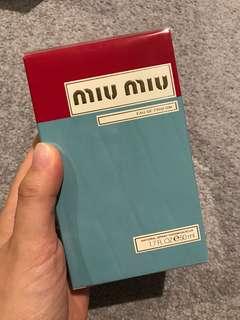 Brand NEW MiuMiu perfume 50ml
