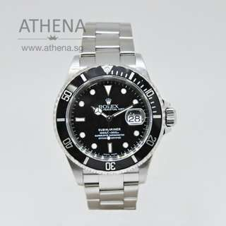 """ROLEX OYSTER PERPETUAL SUBMARINER DATE """"Z"""" SERIES 16610 JGWRL_494"""