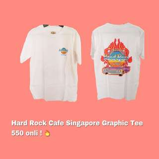 AUTH HARD ROCK CAFE GRAPHIC TEE