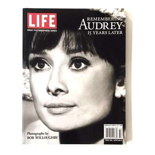 (LIFE) REMEMBERING AUDREY 15 YEARS LATER