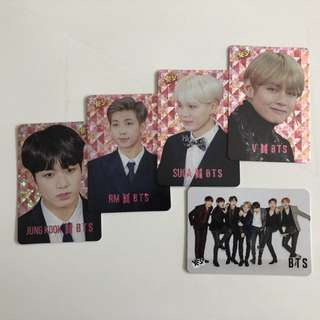 Bts Yes!Card 第31期 閃卡 白卡