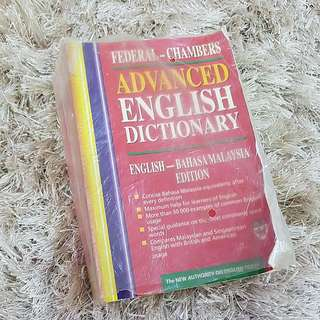 Dictionary- Advance English