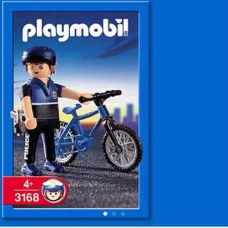 Playmobil 3168 單車警察 Officer On Bicycle