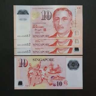 Singapore 10 Dollars 🇸🇬 !!!