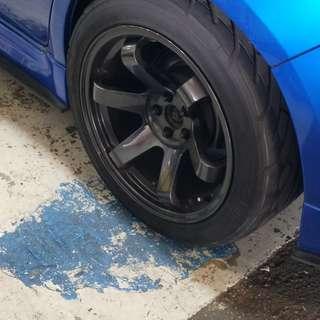 Swap 17 inch rim wif tire last day on 29/3.Car gg to scrap