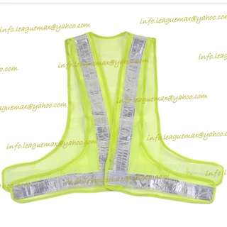 Outside Worker Mesh 3 Reflective Vests 工地 地盤 3 反光帶 反光背心 反光衣