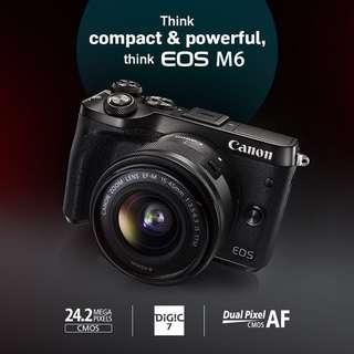 Canon M6 kit set