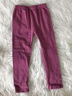 Leging Ungu Magenta Polos Size L (1-3t)