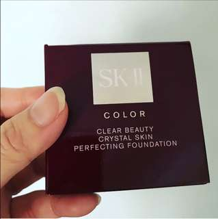 SKII Refill crystal Foundation SPF40 PA+++
