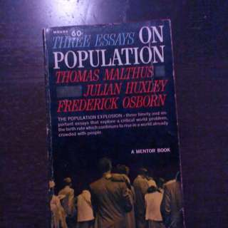 Population Explosion: Three Essays on Population