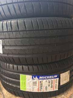 245/45/18 PS4 Michelin Tyrr