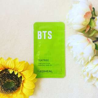 💚 MEDIHEAL X BTS Special Edition Tea Tree Care Solution Essential Mask 💜