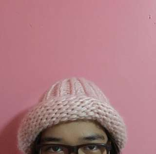 Cute Pink Bonnet
