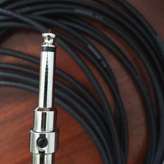 George L's Solderless Guitar Cable (.225)