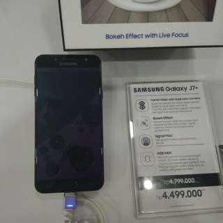 Hp Samsung J7+ Bisa di cicil