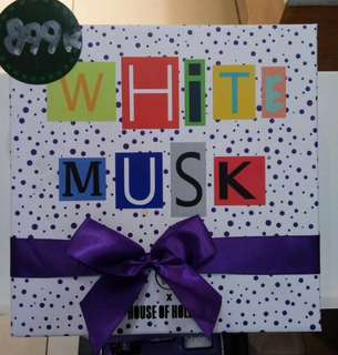 gift body shop white musk