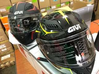 givi x40.5 carbon fibre full face helmet