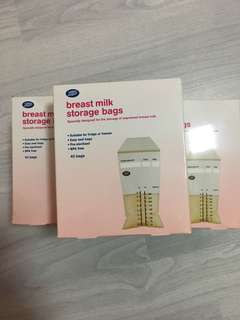 Boots Breastmilk Storage Bags