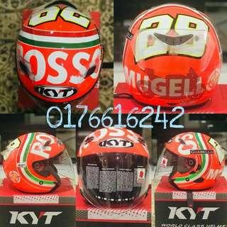 Helmet KYT Mugello Rosso