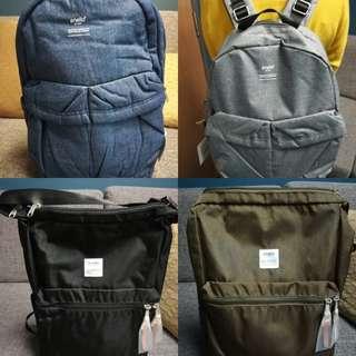 Authentic Unisex Backpacks Anello