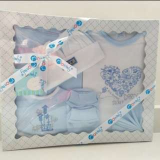 New Born Boy Gift Set 7pcs