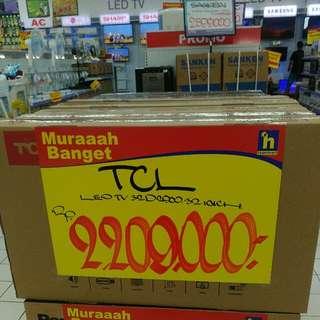 """TCL LED TV 32"""" (bisa dicicil tanpa bunga)"""