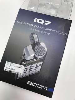 🚚 Zoom iQ7 錄音麥克風