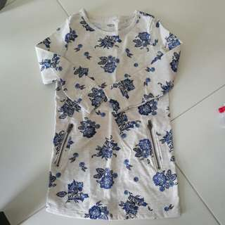 Brand New Old Navy Long Sleeve Floral Dress