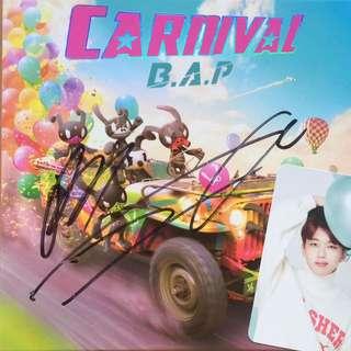 Carnival B.A.P Album - Autographed Ver