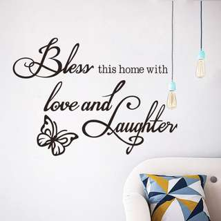 Family Wall Home Decor/Decoration/Wallpaper/Decal/Sticker
