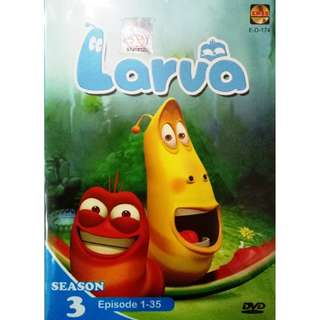 Larva Season 3 Ep.1-35 Anime DVD