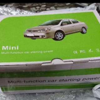 MULTIPURPOSE CAR JUMPSTARTER POWERBANK 7500mah, White