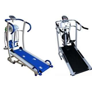 Treadmill Manual 6 Fungsi Alat Olahraga Jogging Tanpa Listrik