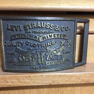 美制70's 年代Levi's皮帶扣